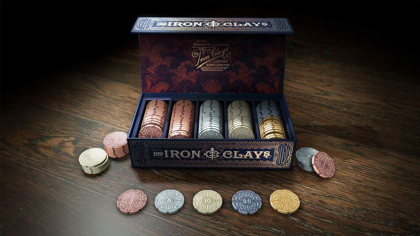 Brass: Iron Clays components