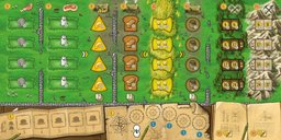 Clans of Caledonia game board