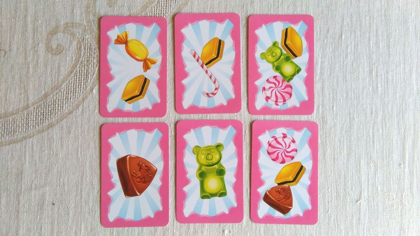 Candy Match cards