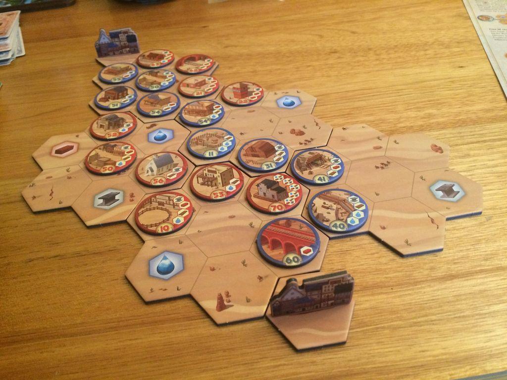 U.S. Telegraph gameplay