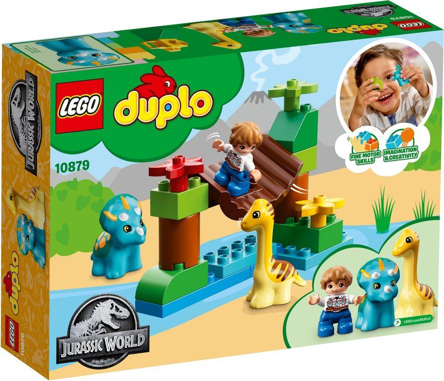 LEGO® DUPLO® Gentle Giants Petting Zoo back of the box