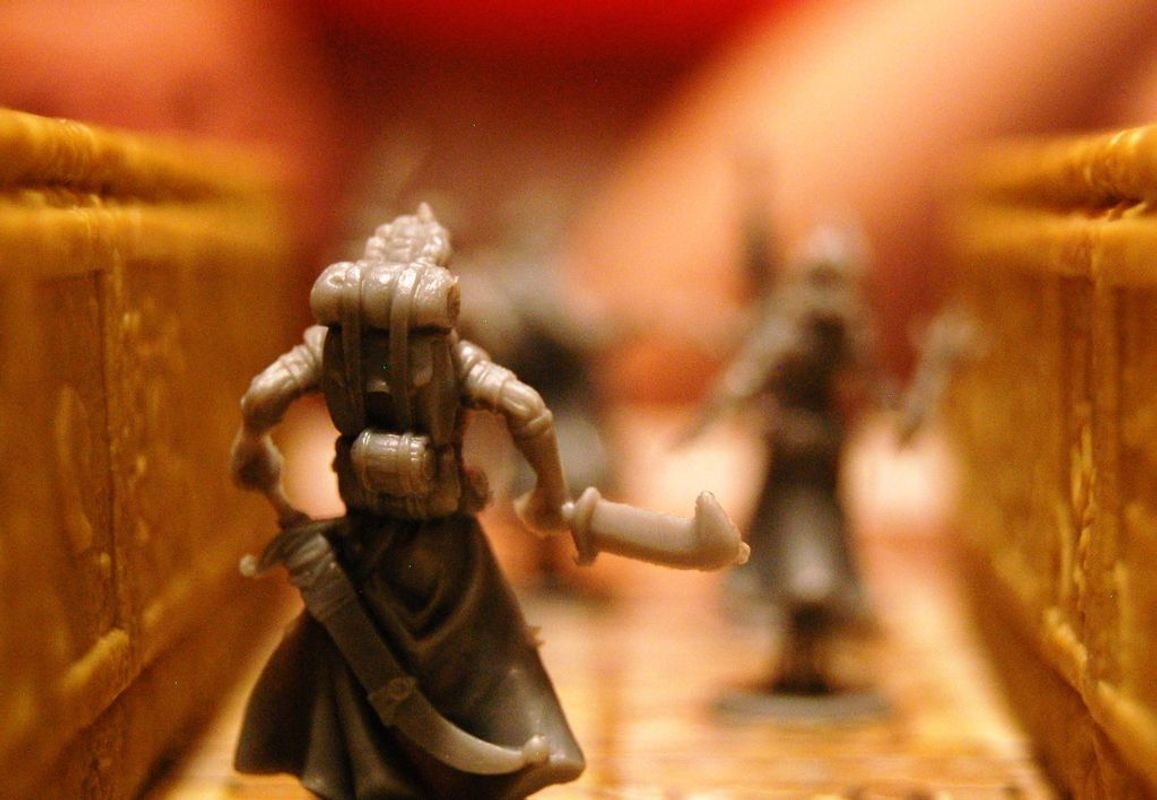 The Adventurers: The Temple of Chac miniatures