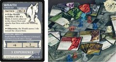 Castle Ravenloft: A Dungeons and Dragons Boardgame cards