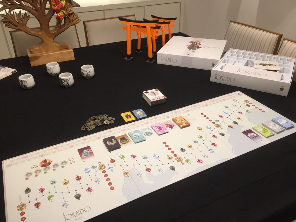 Tokaido Deluxe components