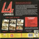 Detective: A Modern Crime Board Game - L.A. Crimes back of the box