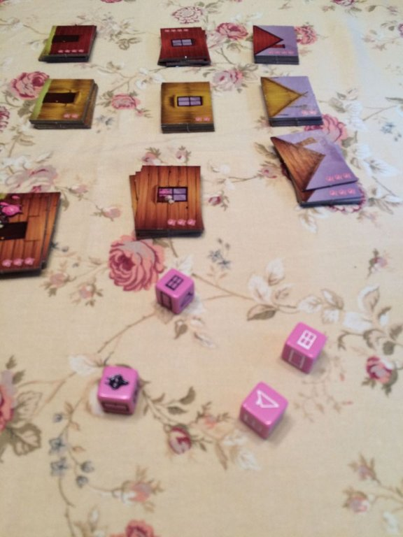 Tales & Games: The Three Little Pigs components