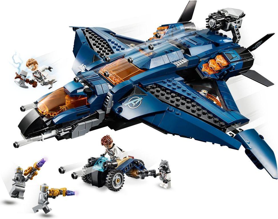 LEGO® Marvel Avengers Ultimate Quinjet gameplay