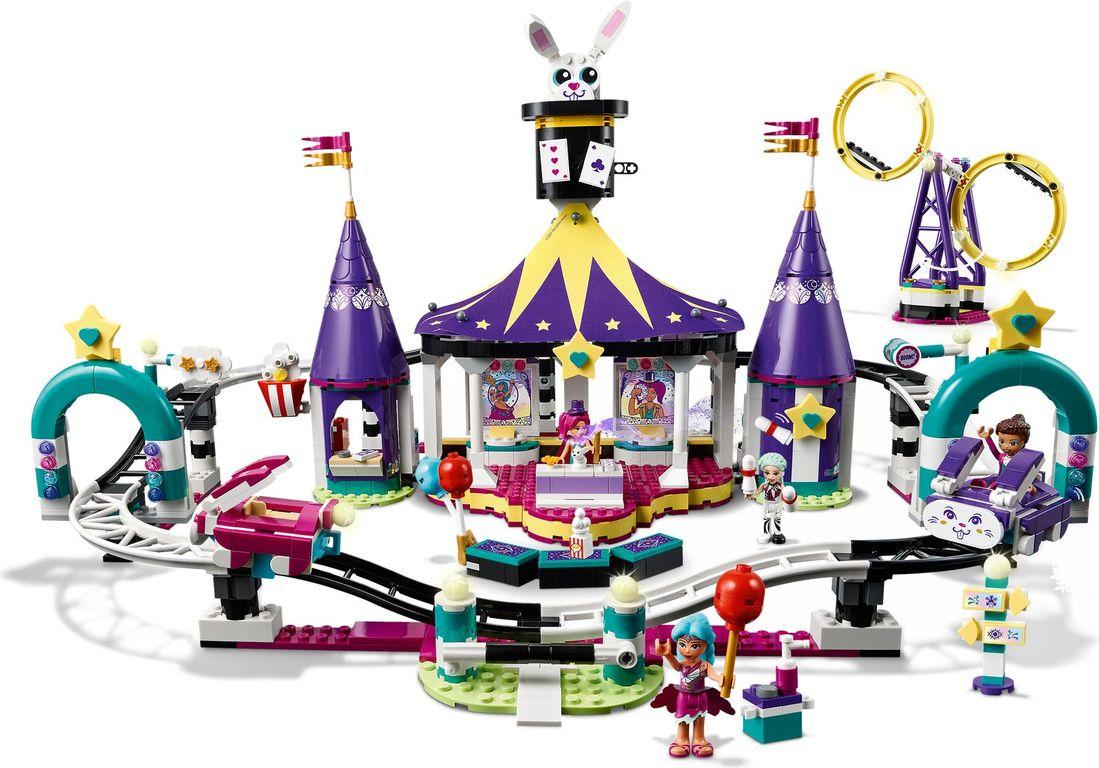 LEGO® Friends Magical Funfair Roller Coaster gameplay