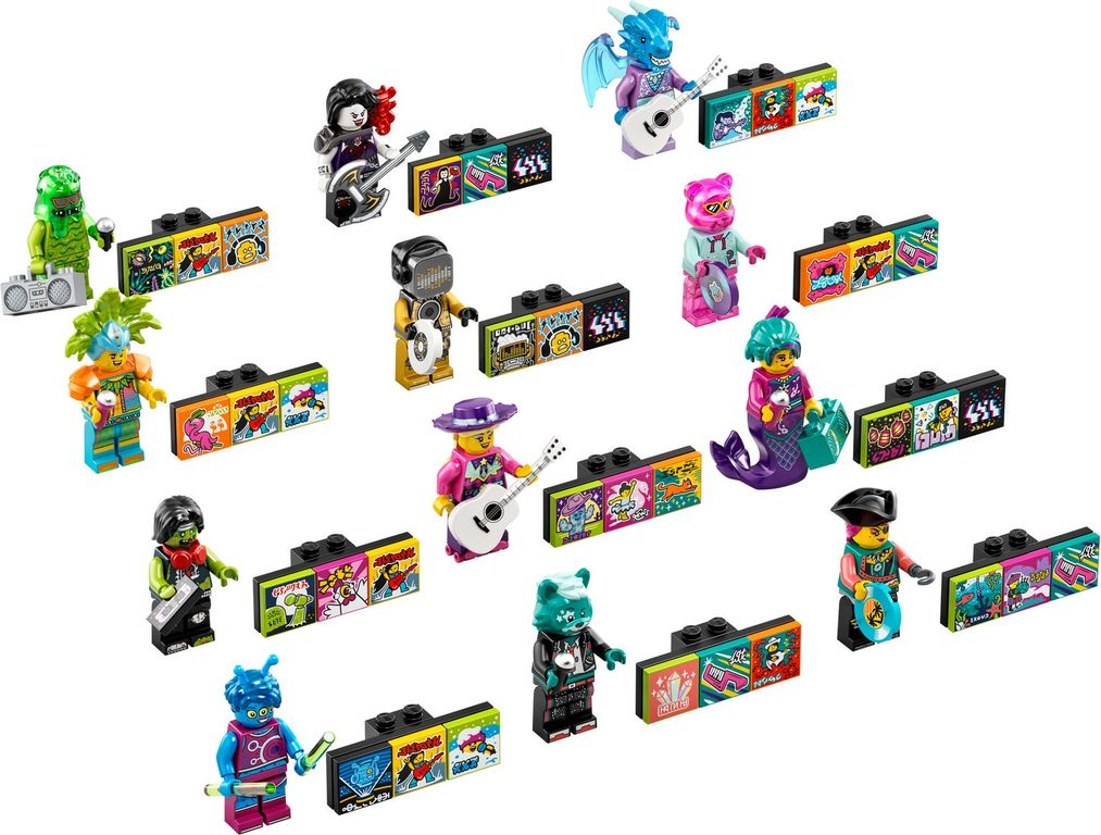 LEGO® VIDIYO™ Bandmates components