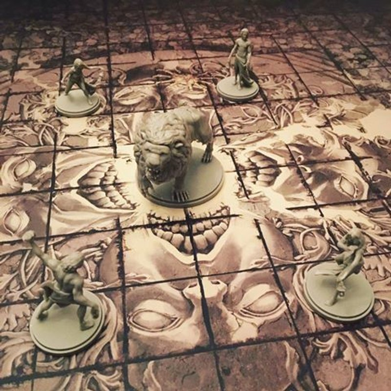 Kingdom Death: Monster miniatures