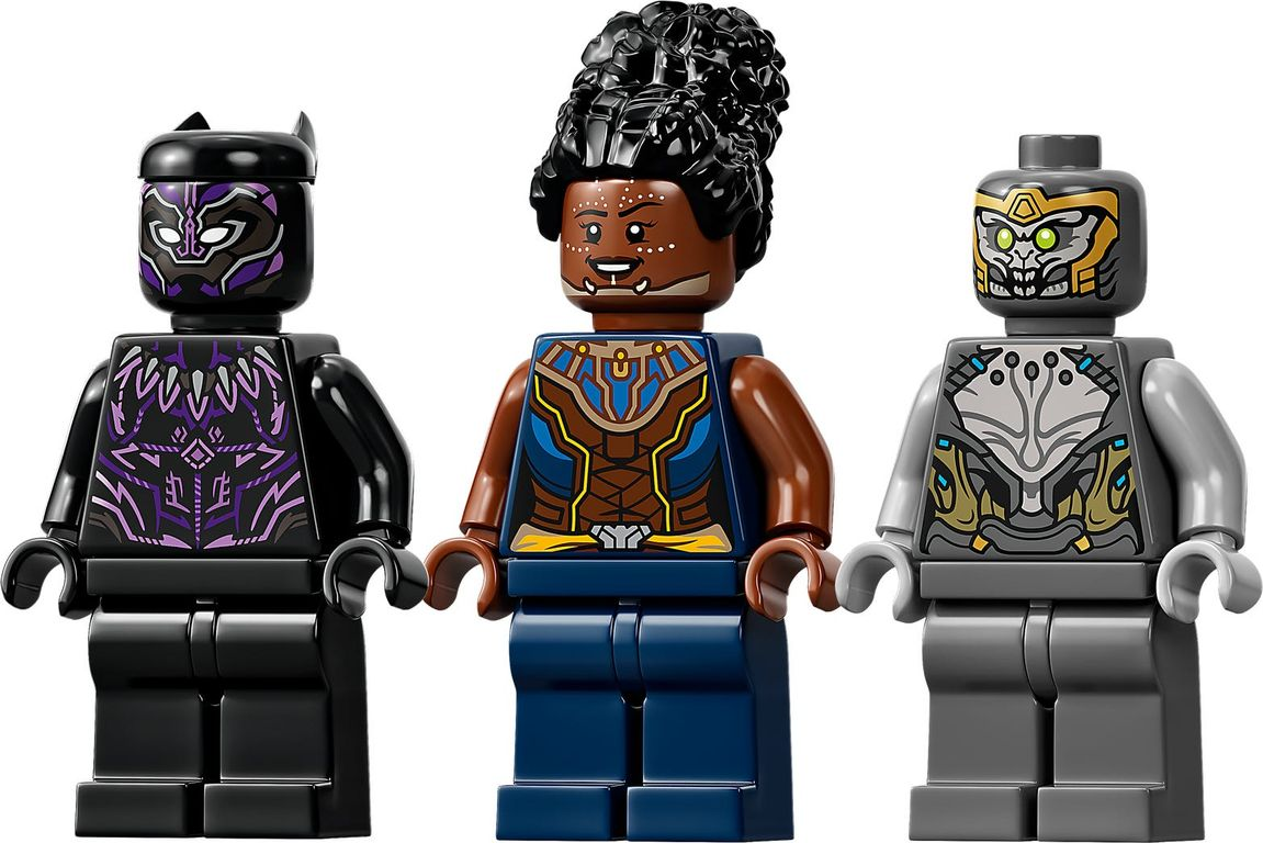 LEGO® Marvel Black Panther Dragon Flyer minifigures