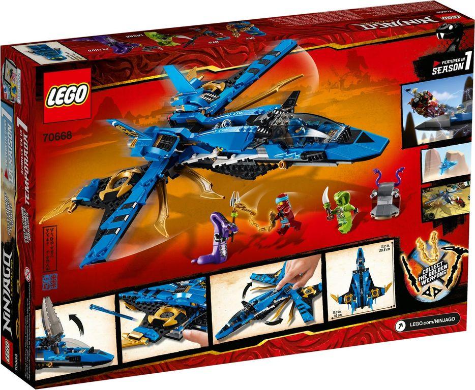LEGO® Ninjago Jay's Storm Fighter back of the box