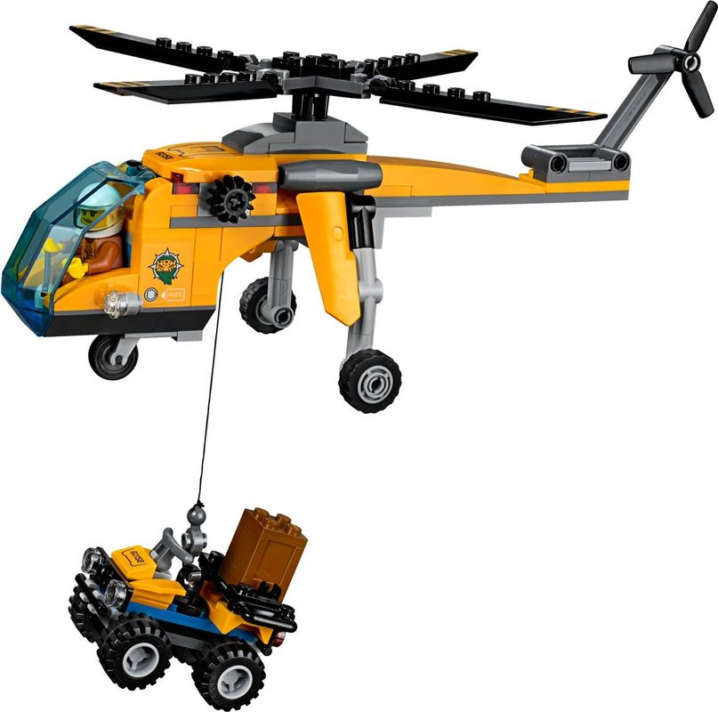 Jungle Cargo Helicopter components