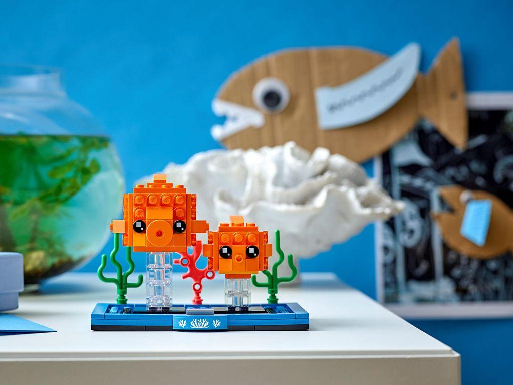 LEGO® BrickHeadz™ Goldfish components