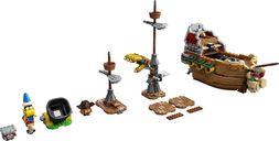 LEGO® Super Mario™ Bowser's Airship Expansion Set components