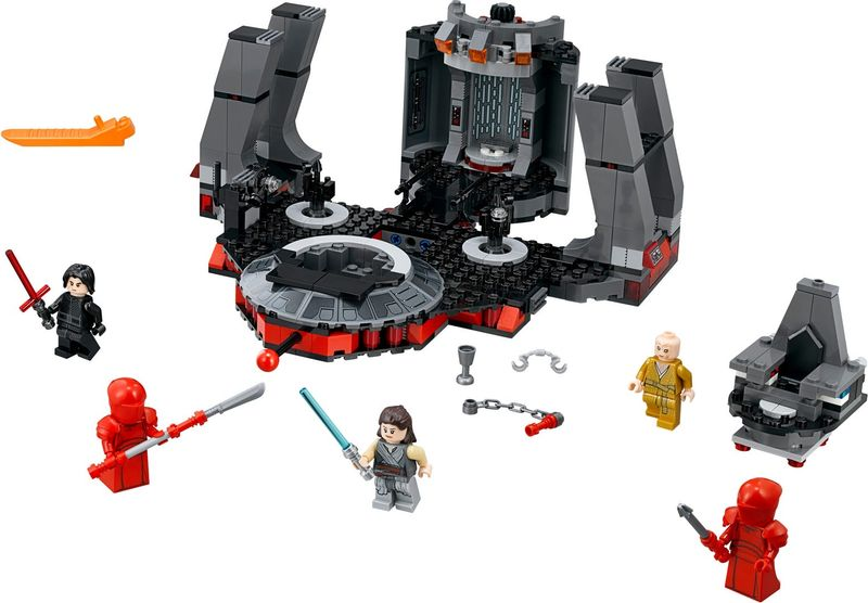 LEGO® Star Wars Snoke's Throne Room components