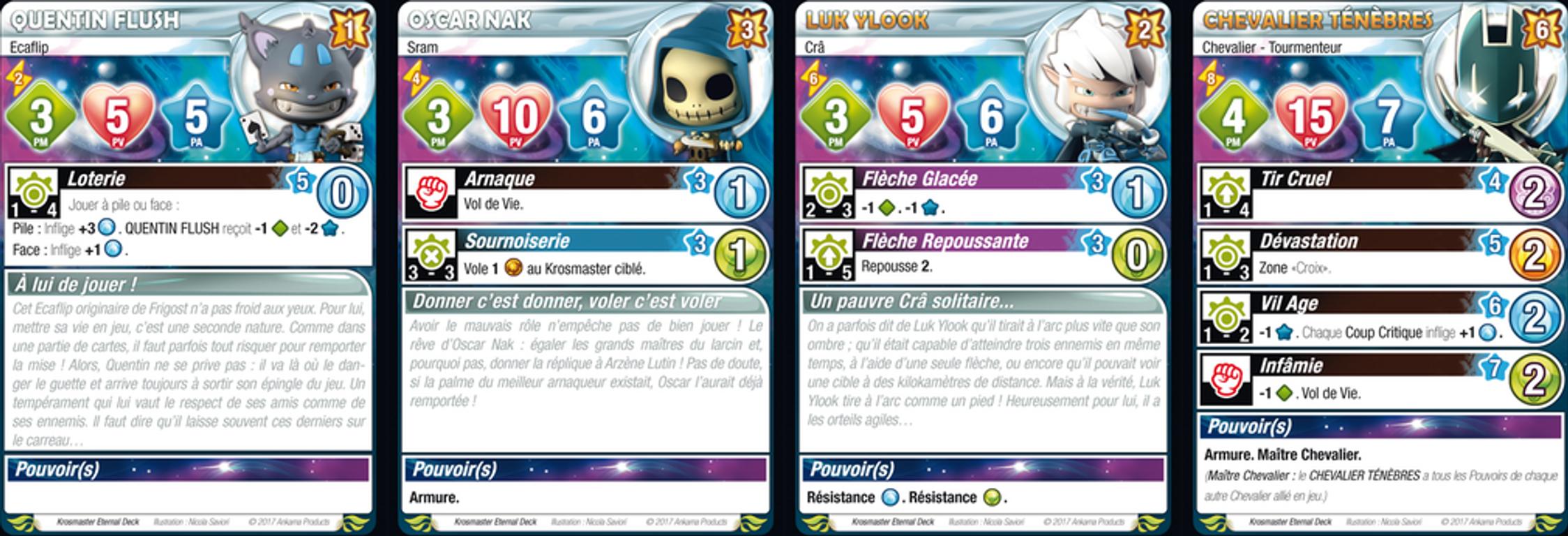 Krosmaster: Arena - Bad Boys cards
