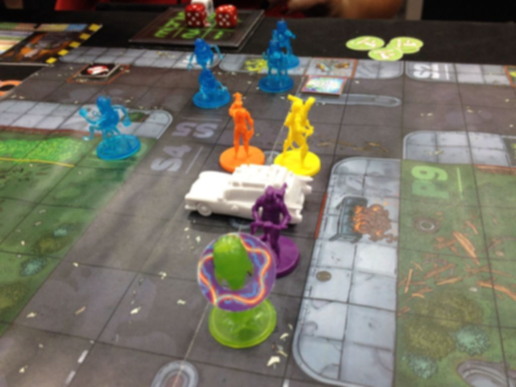 Ghostbusters: The Board Game gameplay
