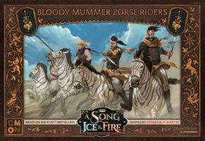 A Song of Ice & Fire: Tabletop Miniatures Game – Bloody Mummer Zorse Riders