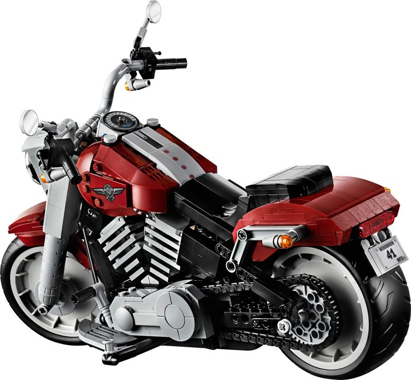 LEGO® Creator Expert Harley-Davidson® Fat Boy® back side