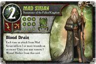 Summoner Wars: Fallen Kingdom - Second Summoner Mad Sirian card