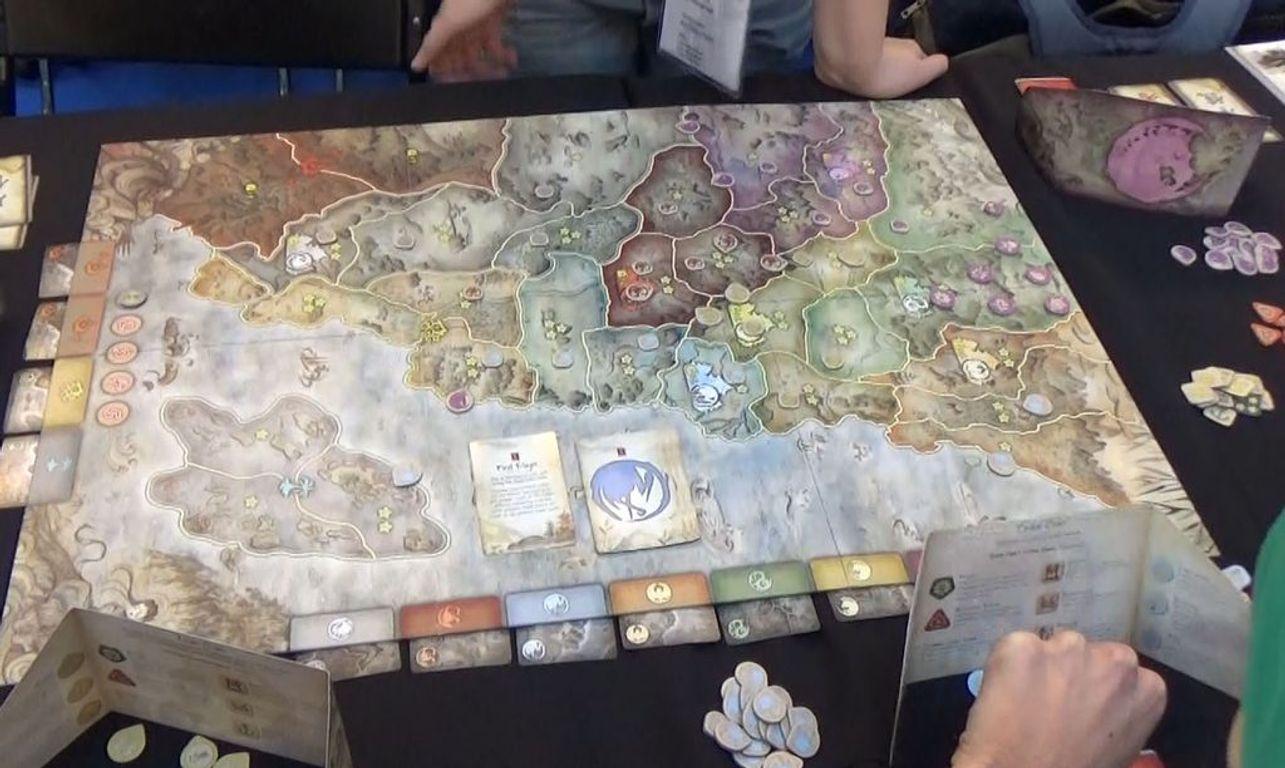 Battle for Rokugan gameplay