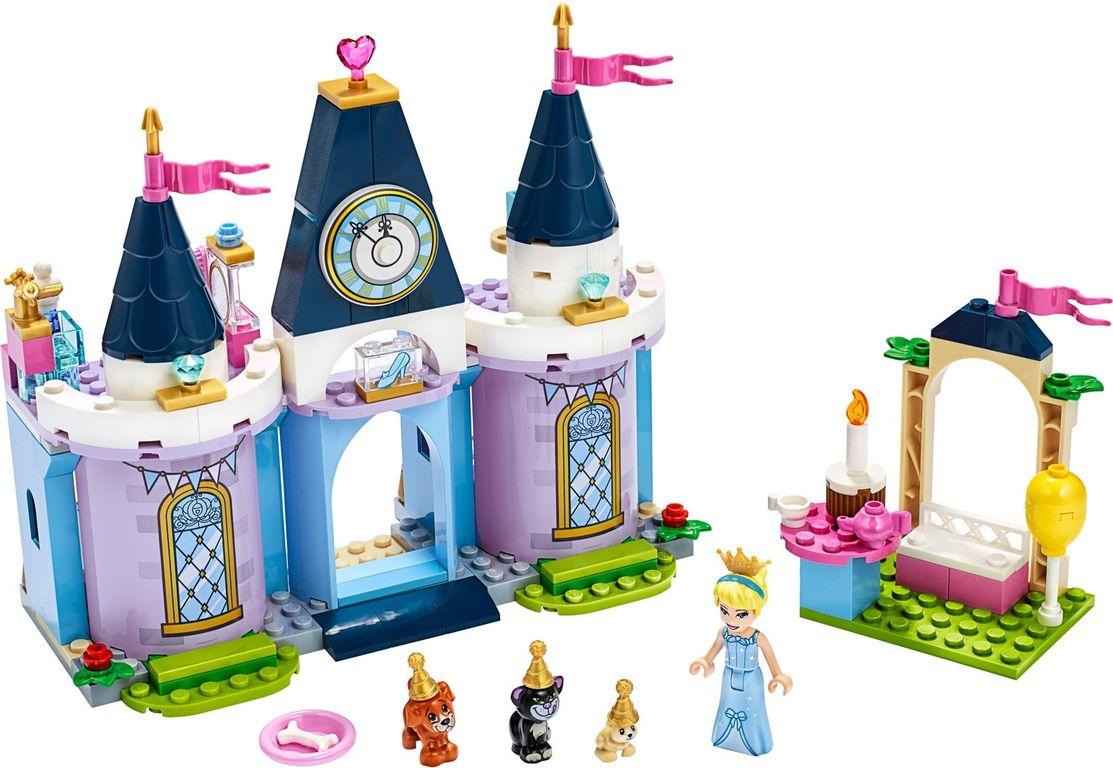 Cinderella's Castle Celebration components