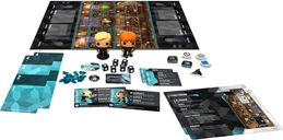 Funkoverse Strategy Game: Harry Potter 101 components
