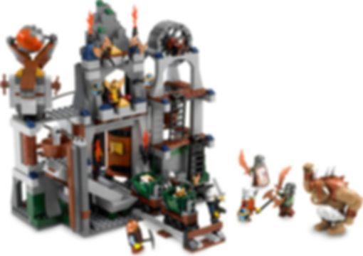 LEGO® Castle Dwarves' Mine components