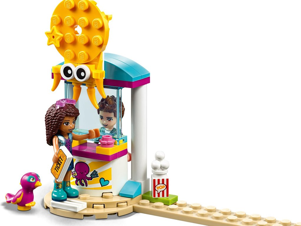LEGO® Friends Funny Octopus Ride minifigures
