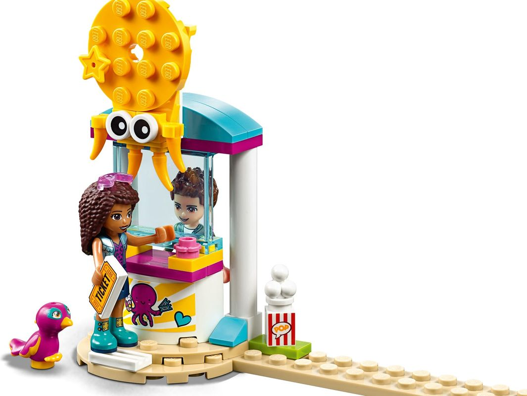 Funny Octopus Ride minifigures