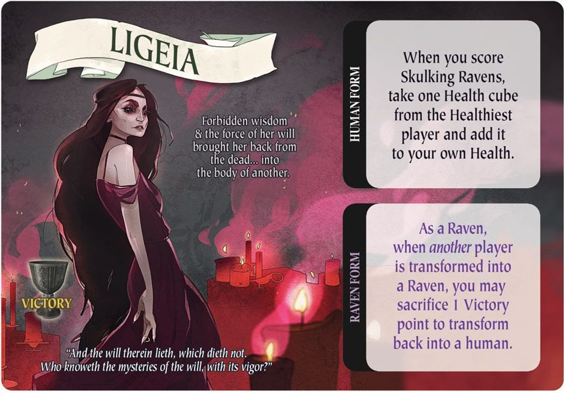 Specters of Nevermore Ligeia card