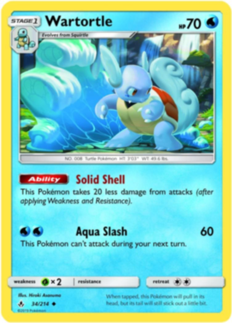 Pokémon TCG: Blastoise-GX Premium Collection carte