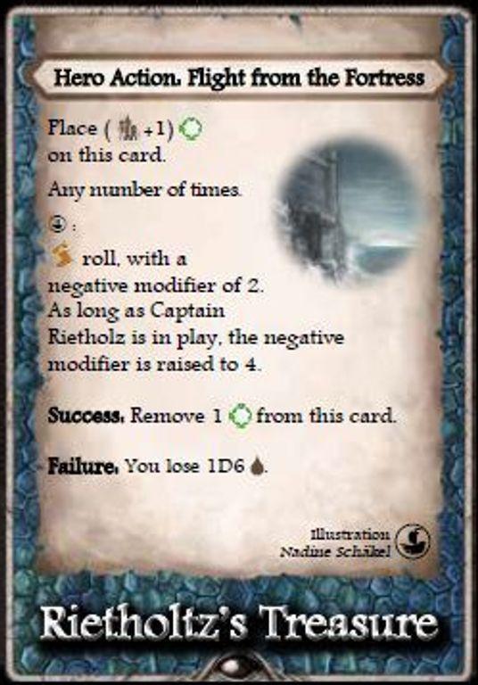 Aventuria: Ship of Lost Souls treasure card
