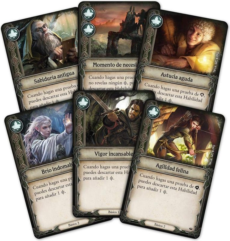 The Lord of the Rings: Journeys in Middle-earth cards