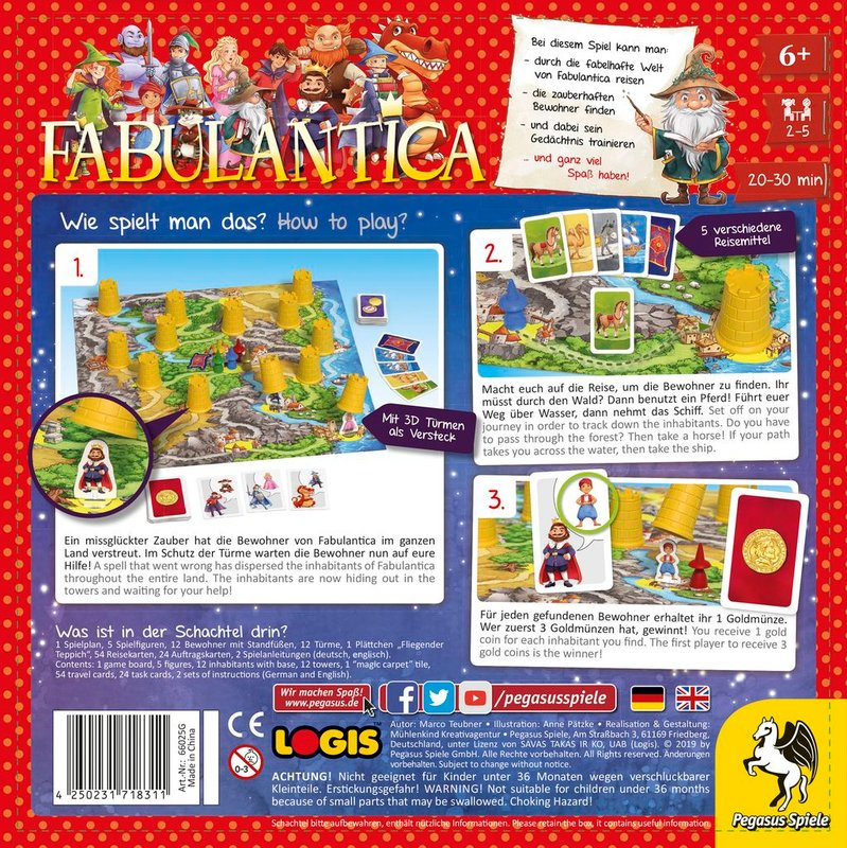 Fabulantica back of the box