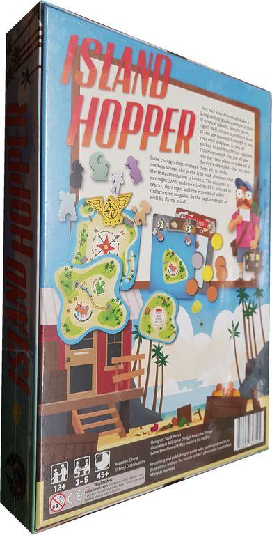 Island Hopper back of the box
