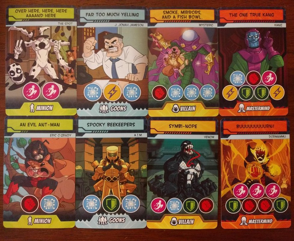 5-Minute Marvel cards