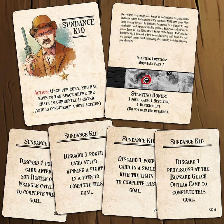 Western Legends: Ante Up components