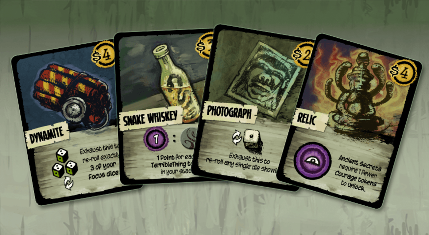 Ancient Terrible Things cards