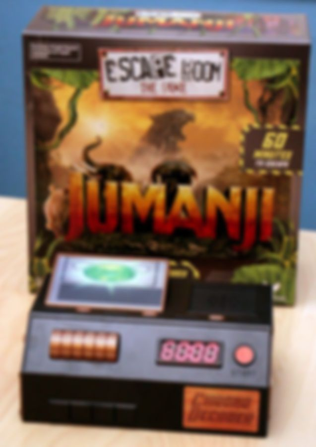 Escape Room: The Game - Jumanji components