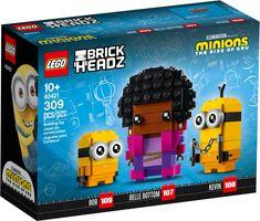 LEGO® BrickHeadz™ Belle Bottom, Kevin and Bob