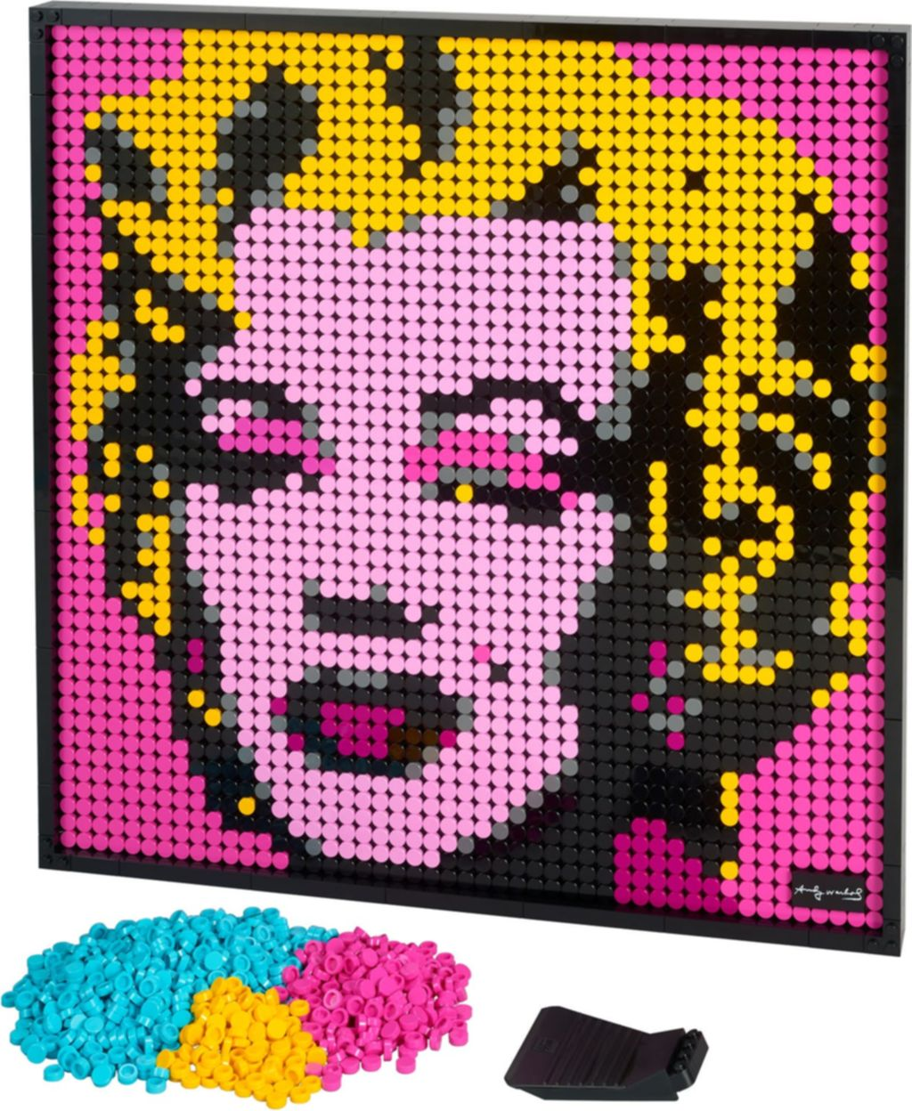 Andy Warhol's Marilyn Monroe components