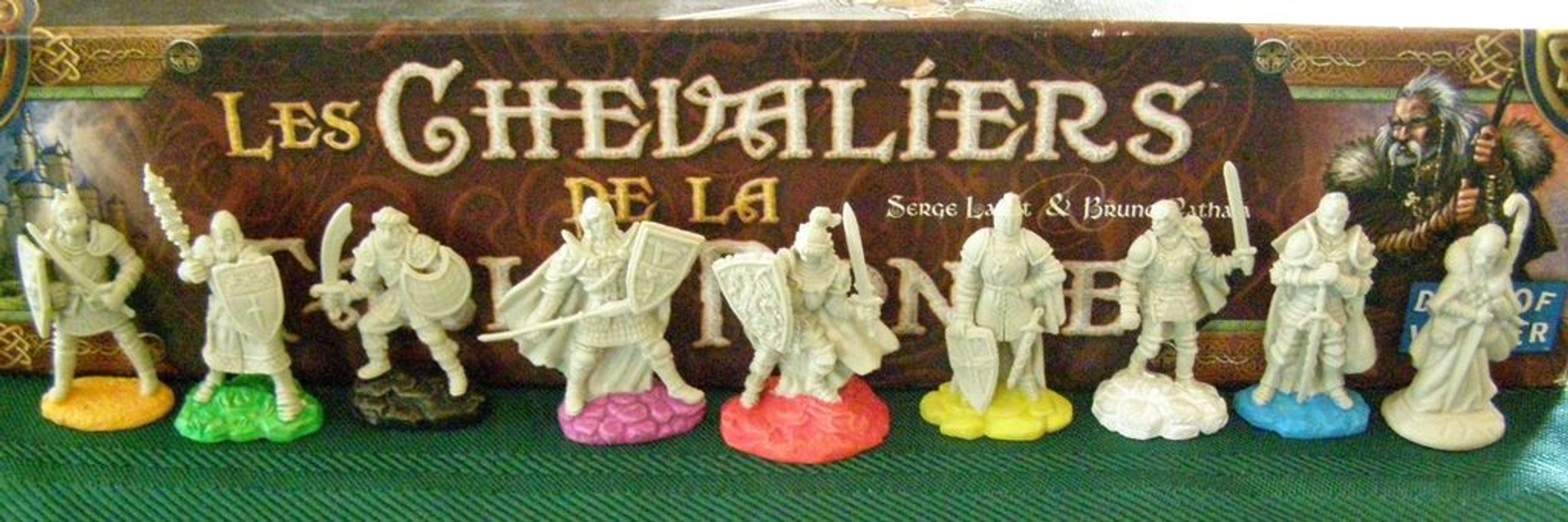 Shadows over Camelot: Merlin's Company miniatures