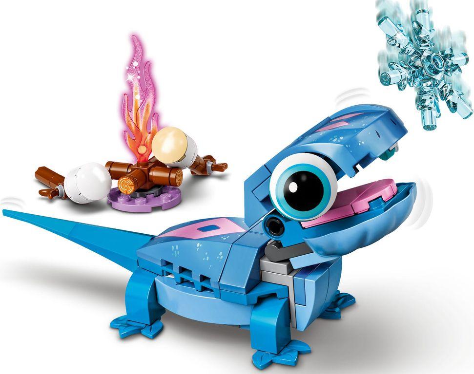 LEGO® Disney Bruni the Salamander Buildable Character gameplay