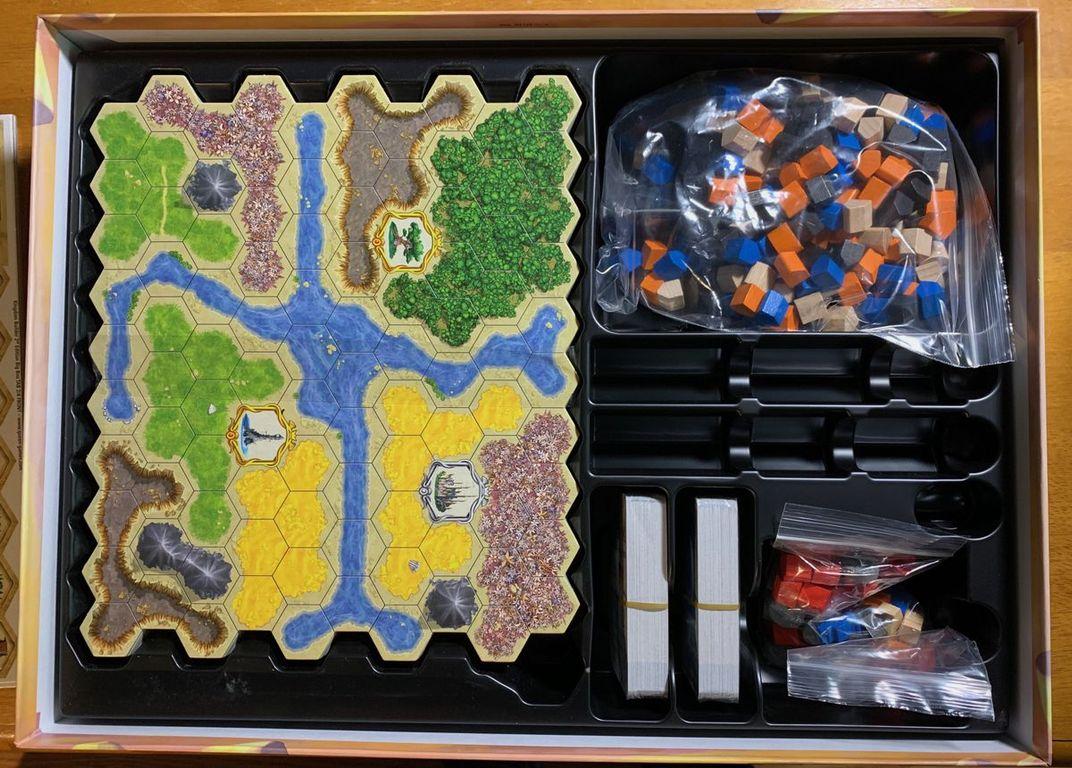 Kingdom Builder: Big Box (Second Edition) components