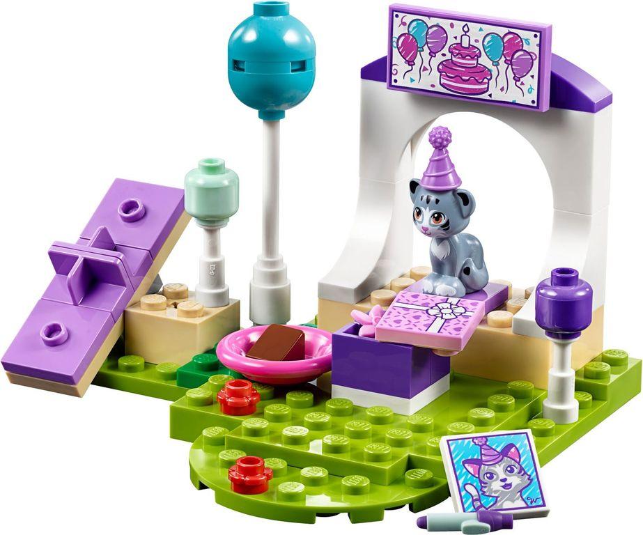 LEGO® Friends Emma's Pet Party components