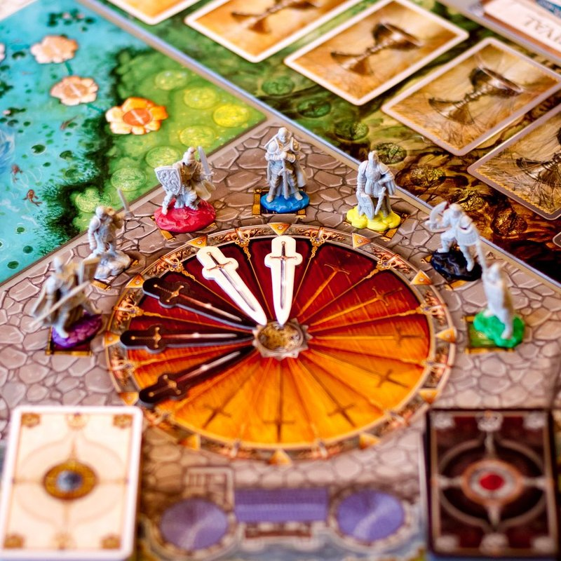 Shadows over Camelot gameplay