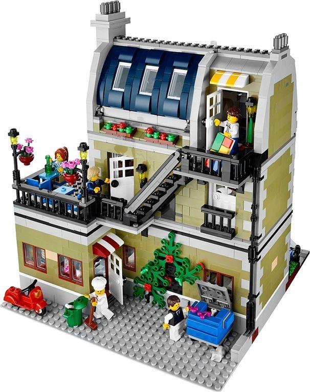 LEGO® Creator Expert Parisian Restaurant back side