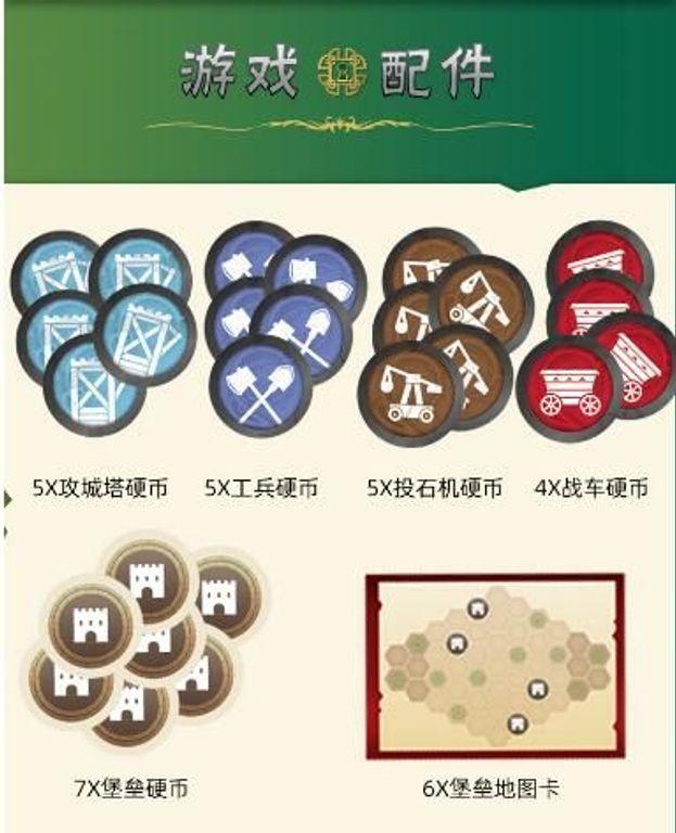 War Chest: Siege components